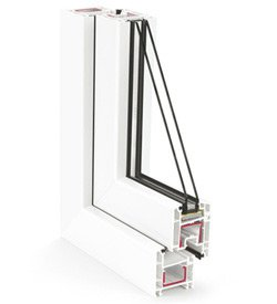 """REHAU Ecosol-Design 60, салон магазин """"Ваши Окна"""" советует для балконов."""