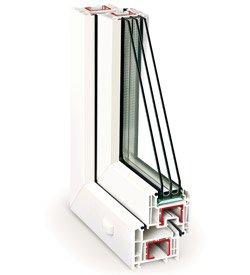 """REHAU Ecosol-Design 70, салон магазин """"Ваши Окна"""" советует для правильных теплых окон."""