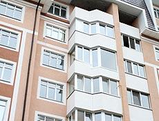 Металлопластиковый балкон с глухим витражным окном, стеклопакет больше 3х кв.м. собирался из двух стекол 6мм, профиль Rehau, г. Буча