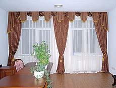 Комплект штор (кабинет)