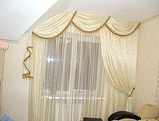 Гостинная мансардное окно (2)
