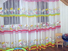 Детская мансардное окно